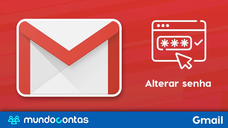 Como alterar a senha do Gmail