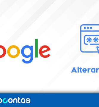 Como alterar a senha do Google