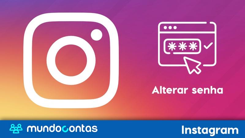 Como alterar ou mudar a senha do Instagram