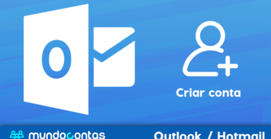 Como cadastrar ou criar uma conta de e-mail do Outlook Hotmail