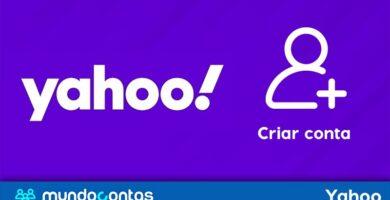 Como cadastrar ou criar uma conta de e-mail do Yahoo