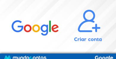 Como cadastrar ou criar uma conta do Google
