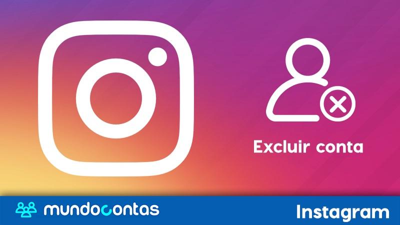 Como excluir uma conta do Instagram