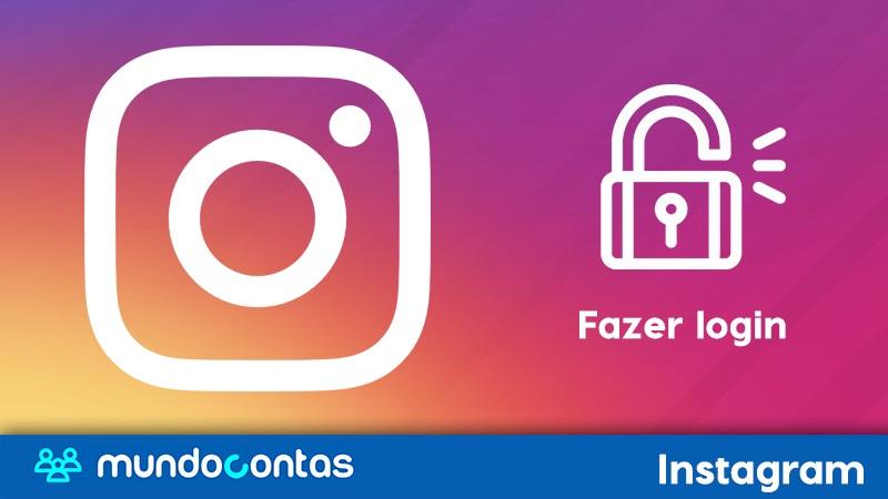 Como fazer login ou entrar no Instagram