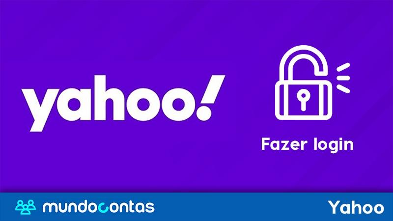 Yahoo Mail Entrar ou fazer login no Yahoo.com Yahoo.com.br e outros